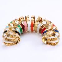 Cleef pulsera Herme Ladies Anillos Collares Collares Tornillo Van Fiesta Fiesta de Boda Regalo Ama Moda Moda Diseñador de Lujo Carti Tamaño # 17 H02