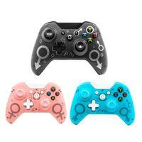 Oyun Denetleyicileri Joysticks Kablolu / Kablosuz Bluetooth Denetleyici Microsoft Xbox One PC için Gamepad Joystick 7 USB Kontrolü WINS