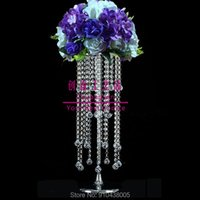 Party Decoration Flower Stand Wedding Centerpieces Metal Arch Backdrop Prop Gold Centerpiece Round Floral Holder Table Deco