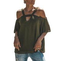 Блузки лето 2021 половина рукава шифоновая блузка для женщин -Out рубашка уличная одежда верхний бак женские женские рубашки