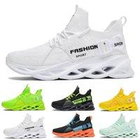 تنفس أزياء رجالي المرأة الاحذية T9 الثلاثي أسود أبيض الأخضر الأحذية في الهواء الطلق الرجال النساء مصمم أحذية رياضية المدربين الرياضة حجم حذاء رياضة