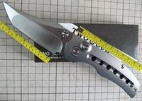 Twosun Messer Outdoor Camping Survival M390 Titan Button Sperre Tasche Klappmesser TS313-Taste