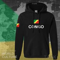 Конго Республика Капюшон Мужская Толстовка пот Новый хип-хоп Уличная одежда Косцент народ Футболист Спортивная Страна Cog Cog Congolese X0601