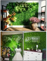 40x60cm Artificial Turf Garden Decorations Grass Mat Pet Plastic Thick Fake Grasses Lawn Micro Landscape RRD6804