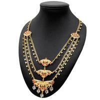 Zincirler Güzel Multilayer Kolye Takı Kadın Altın Kaplama 24 K Zincir Katmanlı Gerdanlık Gelin Lüks Düğün Parti Hawaii Mücevherat