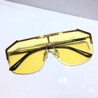 0291S sunglasses For women and men unisex Half Frame Coating Lens 0291 mask popular sunglasses Carbon Fiber Legs Summer classic Style