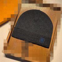 2021 Nouvelle France Fashion Mens Hommes Hats Hôtel Bonnet Hiver Bonnet Chapeau en laine tricotée plus Velvet Casquette Câillets De Velvet Masque Dessus Bonnets Fringe