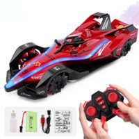 RC Cars Radio Race Car Toys 3D with Lights for Children High Speed Electric Mini spray Rc Drift Driving Car