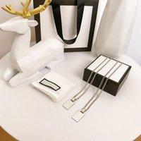 Colar de moda Luxo pingente colares amor pulseira para homem mulheres designer jóias pulseiras com caixa de canal