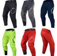 2021 logotipo cuesta abajo pantalones motocicleta cruz-country bicicleta de montaña verano malla montando pantalones de otoño jinete pantalones