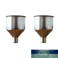 2 adet / takım Mini Paslanmaz Çelik Huni Hip Şişesi Içme Içme Dolum Viski Alkol Pratik Şarap Süzgeç Filtre Mutfak Aletleri