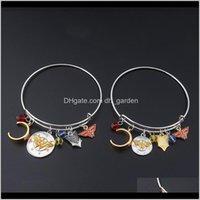 Очарование Регулируемое со значком повязки привело для моды ювелирные изделия для женщин Wonder женщина браслеты браслеты браслеты браслеты JM002 Eugrs TJ2VX