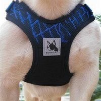 X3 sports dog harness, breathable mesh, no zipper, no choke, adjustable, light weight, French Bulldog J0525