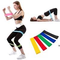 Widerstandsbänder Yoga Körperbau Trainingsgürtel Fitness Übungsband Hohe Spannung Muskeln für Bein Knöchelgewichttraining DHC7008