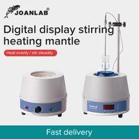 Forniture da laboratorio Joanlab 250ml 1000ml 2000ml Digital Riscaldamento elettrico Riscaldamento Attrezzatura ad agitatore magnetico con regolatore termico 110V a 220V