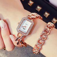 Designer Luxury Brand Watches Es Womens Top Small Dress Diamond Armband Rhinestone Wrist Montre Femme