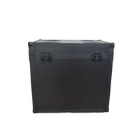 LED aluminum alloy Air Boxes shaking head light stage equipment and instrument transport flight case