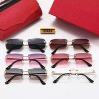 Top Quality Marca Óculos de Sol Homens Mulheres Retro Sun Óculos 5000 Modelo Nylon Quadro G15 Lentes Pacotes Originais Cat Design # 14