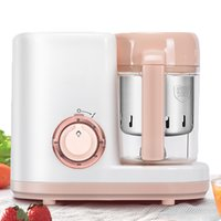Tout en une multifonctions Baby Food Mixer Maker Maker Manuel Food-Processeur Électrique Steamer Cooker Purée Méleuse Mélangeur