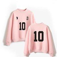 اليابان أنيمي haikyuu karasuno المدرسة الثانوية الكرة الطائرة النادي المتضخم هوديس الرجال النساء طويلة الأكمام الصوف الياقة المدورة البلوز 1