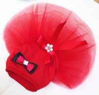 Summer Pet Vêtements Vêtements d'arc robe de chien pour petit chien Jupe de mariage Princess Vêtements de luxe pour chien Dentelle douce 595 S2