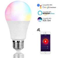 Smart Wifi Bulb Energy Saving Multifunctional Lamp RGB+Warm White WIFI LED Smart Light Bulb Voice Control Work With Alexa In Stock