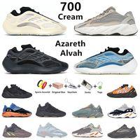 yeezy Avec boîte kanye 700 chaussures de course pour hommes mode V3 MNVN Azareth Azael Alvah Static Vanta Utility Black bone Phosphor Salt sun hommes formateurs baskets de sport