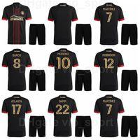 2021-22 Futebol Atlanta United FC 5 Santiago Sosa Jersey Set 4 Anton Walkes 23 Jake Mulraney 8 Ezequiel Barco Martinez Camisa de Futebol Kits