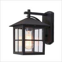Outdoor Wall Lamps American P65 Lamp Waterproof Garden Villa Road Antique E27