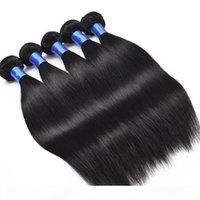 ZF 8-28 pollici visone brasiliano capelli capelli estensioni ombre capelli umani estensi a largo estensione reale 100% nero 100g