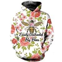 Men's Hoodies & Sweatshirts Top Long Sleeve Beekeeper 3d Printing And Women's Sweatshirt Zipper Hoodie Fashion Harajuku Hoodie Sweatshirt S-