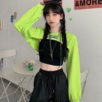 Autumn Oversized Letters Casual Women Sweatshirt Tops Streetwear Kawaii Harajuku Bts Kpop Exo Free