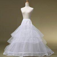 Women's Sleepwear Women White Bridal Petticoat Hoop Skirt Crinoline Slip Dress Underskirt Short Gown Party Flower Wedding Girls Cos N0G1