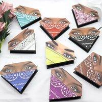 False Eyelashes Diamond Eyelash Packaging Box Collection 1PCS Empty Lash CaseWith Clear Tray Promotion Multicolor