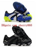 2021 En Kaliteli Erkek Cleats Predator Accelerator FG Futbol Ayakkabıları Futbol Çizmeler Chuteiras Scarpe Calcio