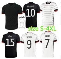 2021 Allemagne Soccer Jerseys Hummels Kroos Football Shirt 20 21 Draxler Reus Muller Gotze Men Kit Oryms Size S-4XL