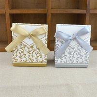 Tatlı Kek Hediye Şeker Kutuları Çanta Yıldönümü Parti Düğün Doğum Günü Partisi Kaynağı Şekeri 100 adet Favor Toptan 1256 V2