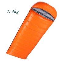 Sleeping Bags 3 Season Warm Envelope Style Outdoor Camping Bag Portable Ultra Light Waterproof Adult Hiking