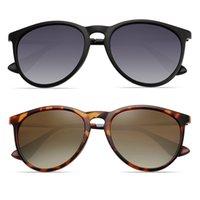 Gafas de sol polarizadas cuadradas para mujeres 2021 diseño de marca anti deslumbramiento conduciendo retro gafas de sol hombres UV400 Zonnebril Heren