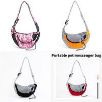 pet backpack Puppy Carrier S L Outdoor Travel Dog Shoulder Bag Mesh Oxford Single Comfort Sling Handbag Tote Pouch