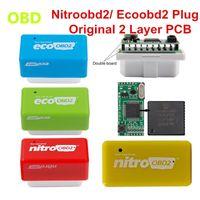 Leitores de Código Ferramentas Digitalizar Board PCB Chip Ecoobd2 Nitro OBD2 Plugue Original Nitroobd2 Caixa de Tuning Eco Gasolina Diesel Mais Torque de Energia