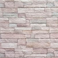 10 pcs 3d adesivos de parede auto-adesivo telha impermeável painel de espuma de espuma de sala de estar TV proteção de fundo bebê papel de parede 38 * 35 cm 1367 v2