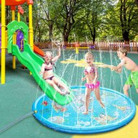 Cm Inflatable Spray Water Cushion Summer Kids Play Mat Lawn ...