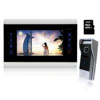 "Homefong 10 ""فيديو إنترفون باب الهاتف المنزل عالية الدقة نظام الشاشة الأمامية Inter-Court-Court-Courbell الهواتف"