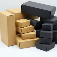 Gift Wrap 15pcs  lot 45 Size Kraft Paper Box  Wedding Candy Box Cake Biscuits Party Event Favor Supplies Packing Box
