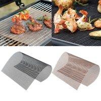 Nicht-Stick-Mesh-BBQ-Pad-Grill-Grill-Backen Kochplatte für Partygrill-Matte-Werkzeuge NXUS
