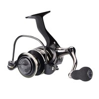 Metal Spool Spinning Fishing Reel Stainless Steel Handle Lur...