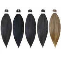 2021 Soild Ombre Two Colors Braiding Hair Jumbo Braided Hair 26 Inch 5 Packs Hot Selling Weaving Synthetic Easy Braiding Hair