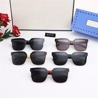 Nueva Moda Gafas de sol de diseño de lujo para hombres para mujer EyeGlasses Diseñadores al aire libre Gafas de sol para mujer Eyewear casual