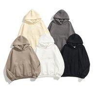 Толстовка с капюшоном с капюшоном с капюшоном 100% хлопковый материал O-образным вырезом Пуловер Толстовка Различные цвета Доступны мужская одежда S-XL Размер